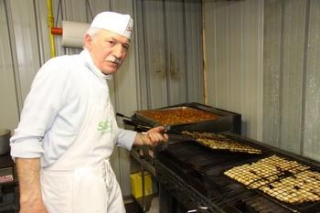 Il cuoco e la griglia