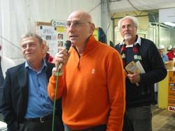Ciccio Graziani parla alla Sagra della Seppia
