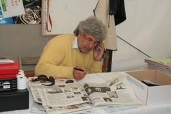 Giovanni Camprini organizza l'edizione 2006 della Sagra della Seppia