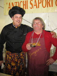 Chef e aiutanti della festa